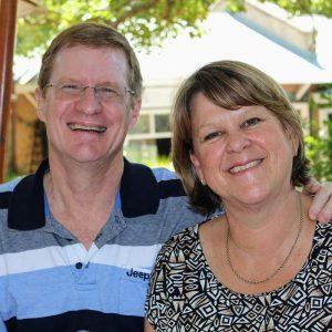 Gary and Hilary Palser